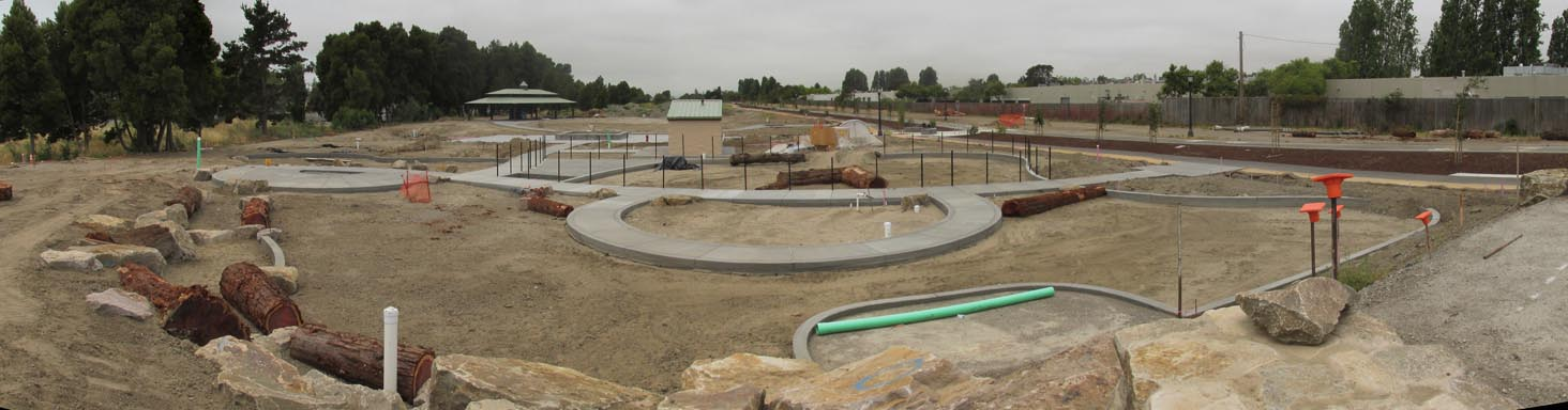 Playground Construction June 1st